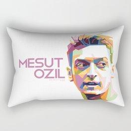 Mesut Ozil WPAP 1 Rectangular Pillow