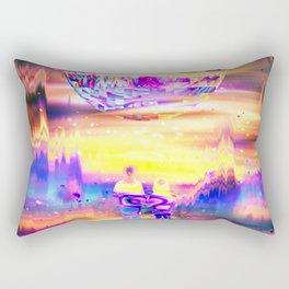 Artistic CV - New World Rectangular Pillow