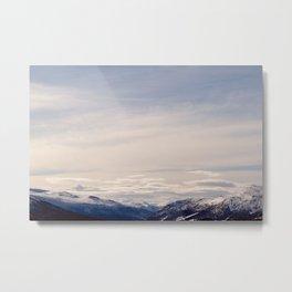 The Beauty of Norwegian landscape Metal Print