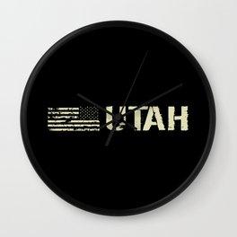 Black Flag: Utah Wall Clock