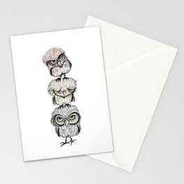 Owl Totæm Stationery Cards