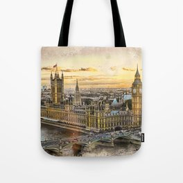 London city art 3 #london #city Tote Bag