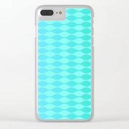 Blue ocean Clear iPhone Case