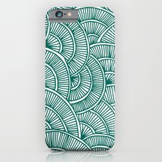 Swirls Green iPhone 6s Slim Case