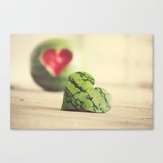 Eat Your Heart Out Canvas Print