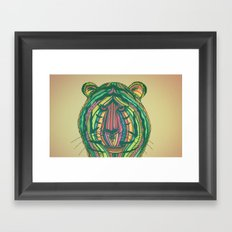 Panthera Tigris Framed Art Print