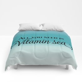 All You Need Is Vitamin Sea Comforters