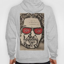 """The Dude Abides"" featuring The Big Lebowski Hoody"