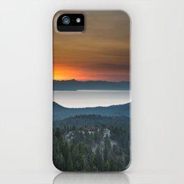 Vibrant Sunset iPhone Case