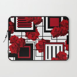 Behind the Rosey Bars Laptop Sleeve