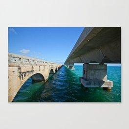 Bridging the Gap Canvas Print