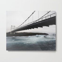 Lagoon Bridge Metal Print