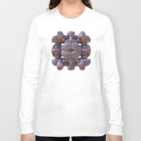 totem Long Sleeve T-shirts featuring Totem by Lyle Hatch