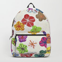 Floral art mille fiori Backpack