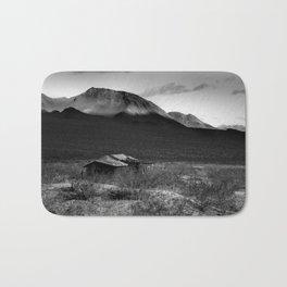 Death Valley Shack Bath Mat