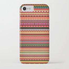 Bulgarian Rhapsody Pattern iPhone Case