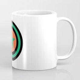 star green orange 4 Coffee Mug