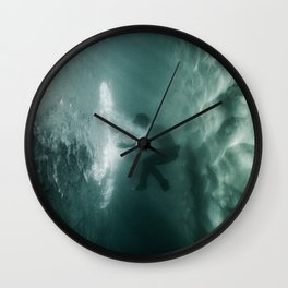 Underwater Portal Wall Clock
