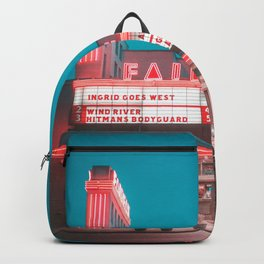 Fairfax red Backpack
