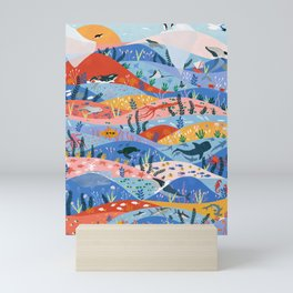 oceans Mini Art Print