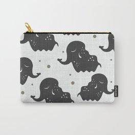 Black Elehants Carry-All Pouch