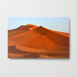 The Great Dune, Erg Chebbi Desert - Morocco Metal Print