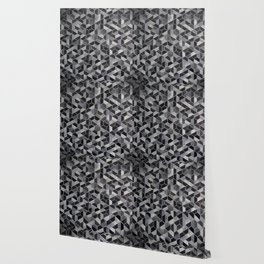 Dark Honeycomb Wallpaper