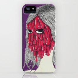 Gooey girl iPhone Case