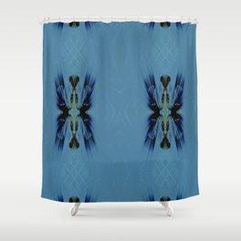 Mosaic Tribal Shower Curtain