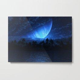 Atoll (Nightfall) Metal Print