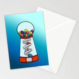 Gumball Machine of Emotions Stationery Cards