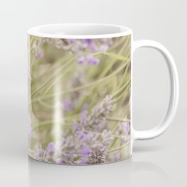 A bee on the lavender #2 Coffee Mug