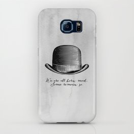 Waiting for Godot - We Are All Born Mad iPhone Case