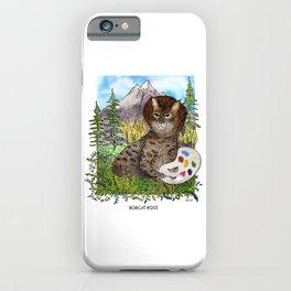 Bobcat Ross iPhone Case