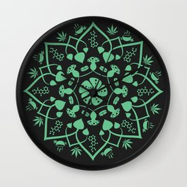 Psychedelic Chat Wall Clock