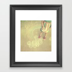 sunshine-y Framed Art Print