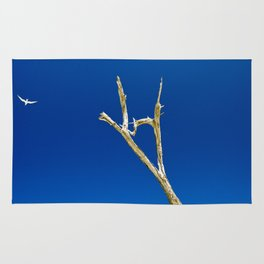 Soaring High in Blue Skies Rug