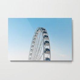 Great Wheel Metal Print