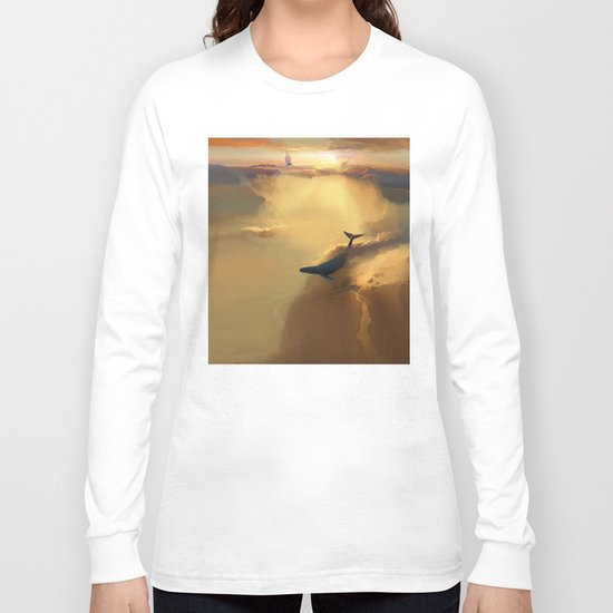 In the sea of gold Long Sleeve T-shirt