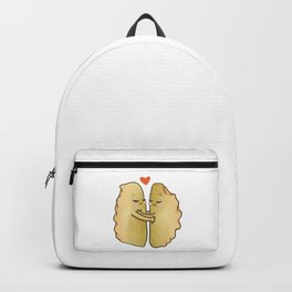 I'll Never Let You Gyoza, Romantic Funny Foodie Gift, Love Pun,  Backpack