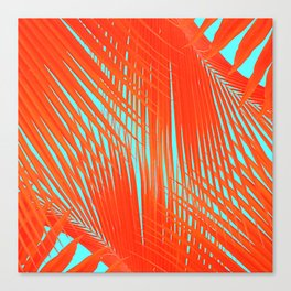Flame Frenzy Canvas Print