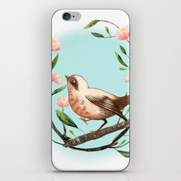 Spring Is Forever In My Heart iPhone Skin