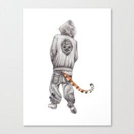 Fierce Attitude Canvas Print