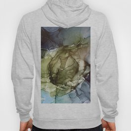 Calm Nature- Earth Inspired Abstract Painting Hoody