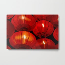Glowing in the dark Metal Print