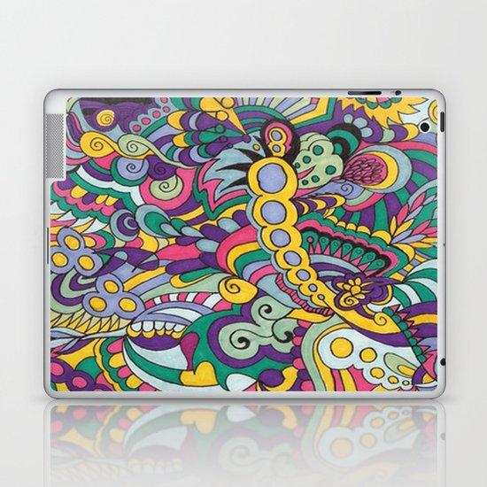 Laissez les bons temps rouler Laptop & iPad Skin