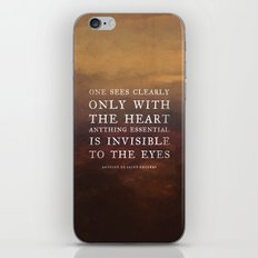I. Anything essential is invisible to the eyes. iPhone & iPod Skin