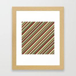 Just Stripes 4 Framed Art Print