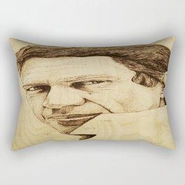 Steve McQueen Rectangular Pillow