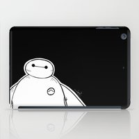 big hero 6 iPad Cases featuring Baymax from Big Hero 6 by Joan Pons